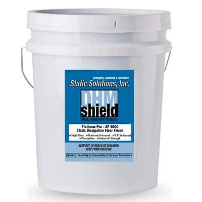5 Gallon ESD Static Dissipative Floor Finish