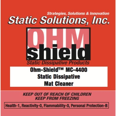 ESD Dissipative Mat Cleaner