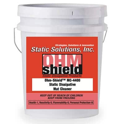 5 Gallons ESD Dissipative Mat Cleaner