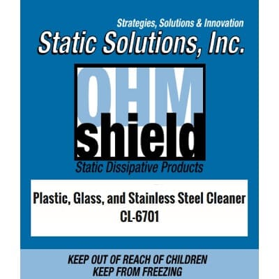 ESD Plastic, Glass, Stainless Steel Cleaner