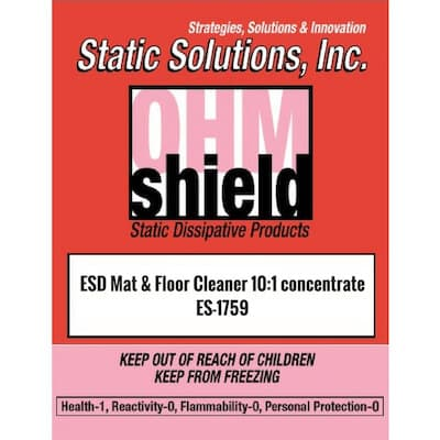 ES-1759 ESD Mat Floor Cleaner