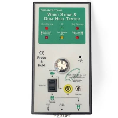 CT-8900 ESD Wrist Strap Heel Tester Meter