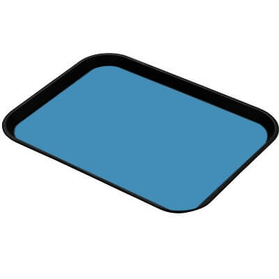 light blue ESD Tray Liner