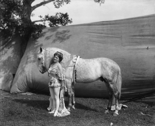 Random Research: Finding my Characters in Vintage Circus Photography: 1899-1923 (3/6)