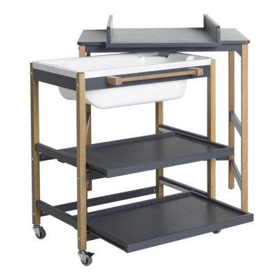 Table Langer Comfort Smart Baignoire Gris Clair Quax Design
