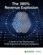 Zacks 380% revenue explosion report - Cover