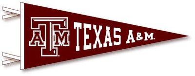 a m aggies multi logo pennant from collegiate pacific