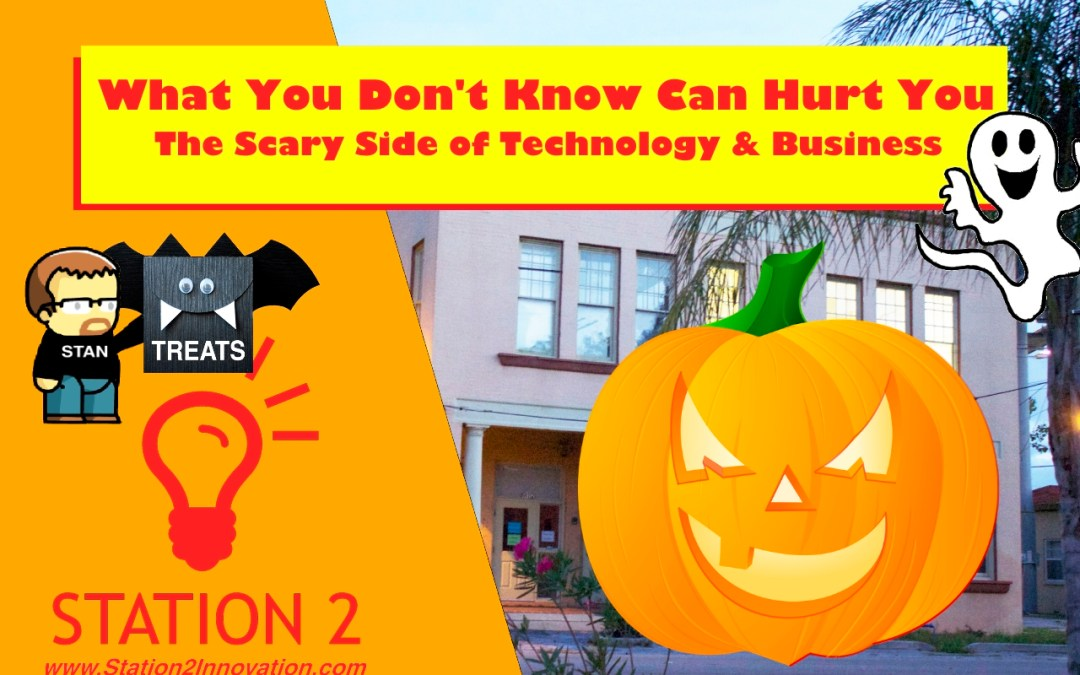 What you don't know can hurt you. Halloween Special Network & Learn