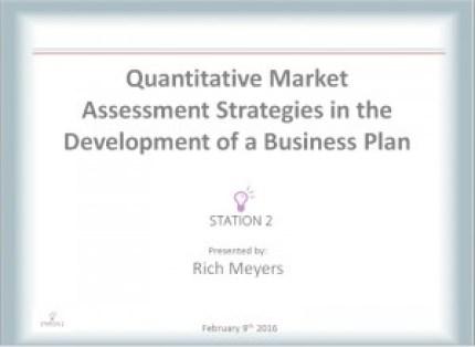 Rich Meyers - Market Assessments