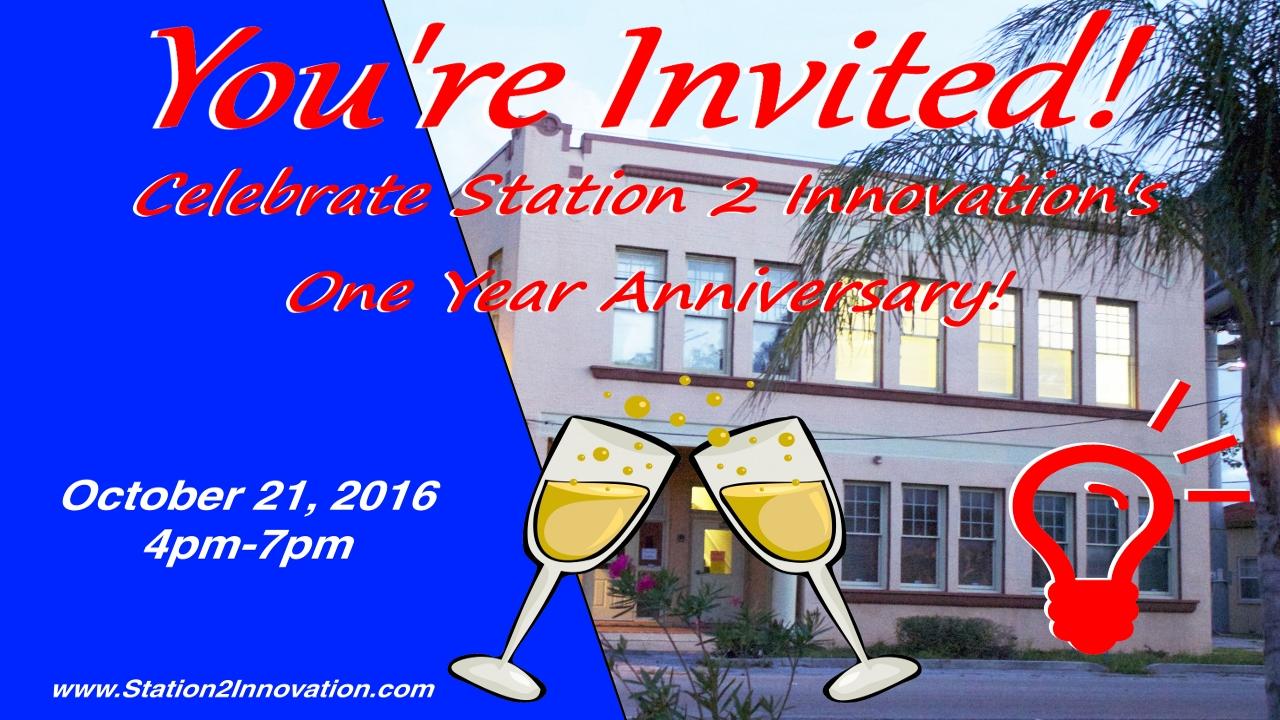 Station 2 Innovation One Year Anniversary Celebration - Station 2 ... 0a7d846eab89c