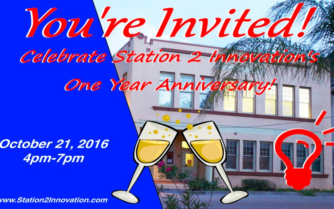 Station 2 Innovation One Year Anniversary Celebration