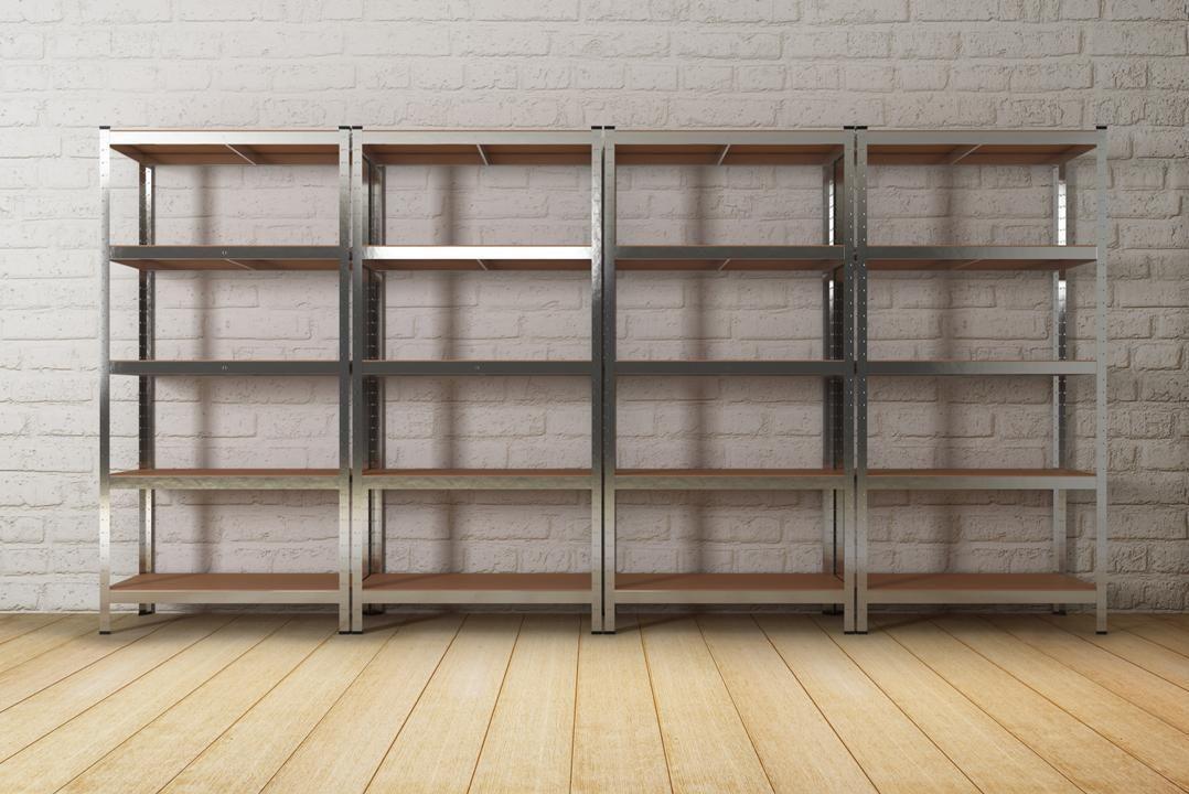 Heavy Duty Metal Racking 5 Tier Garage Storage Shelf
