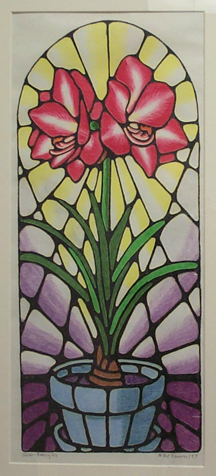 Stain Glass Window - Amaryliss