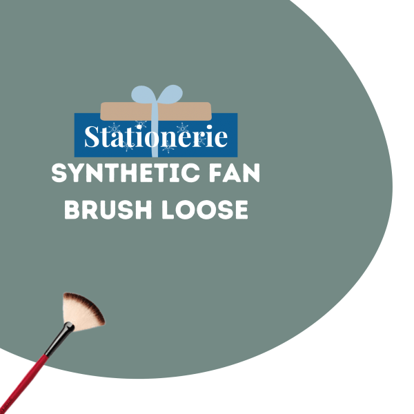 Stationerie Synthetic Fan Brush