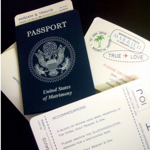 Passport: United States of Matrimony