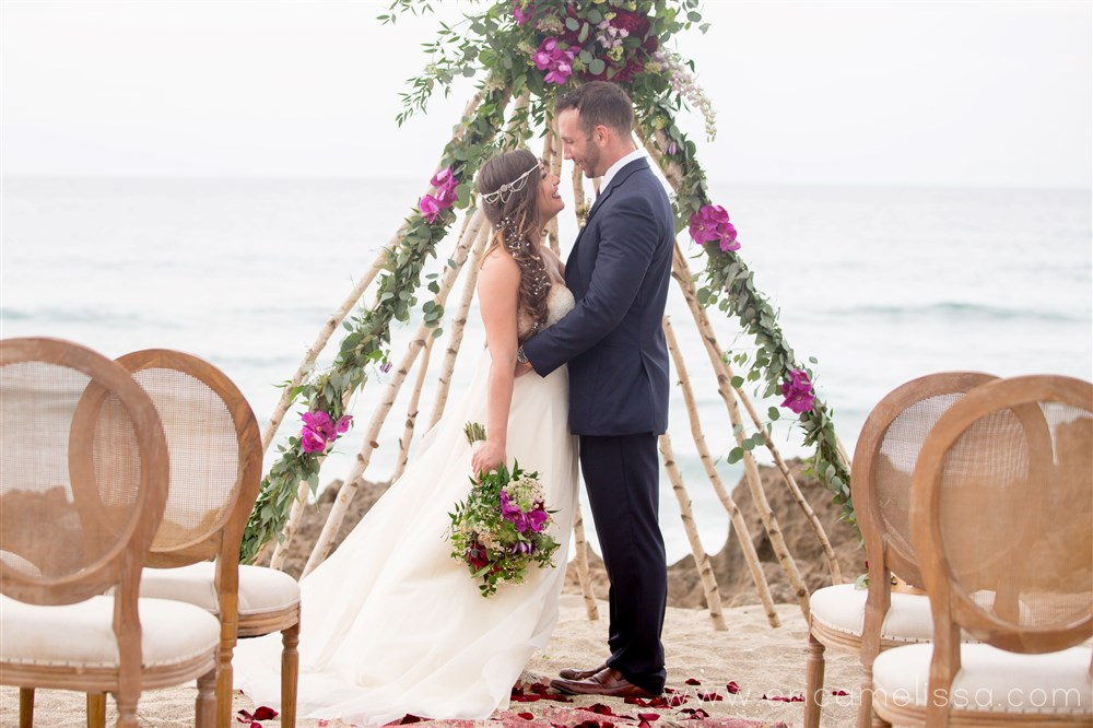 A Boho-Beach Wedding