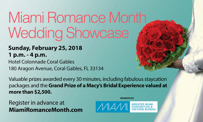 Join us at the Miami Romance Wedding Showcase