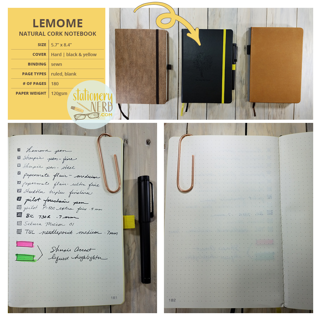 StationeryNerd_Lemome BuJo Journal Review