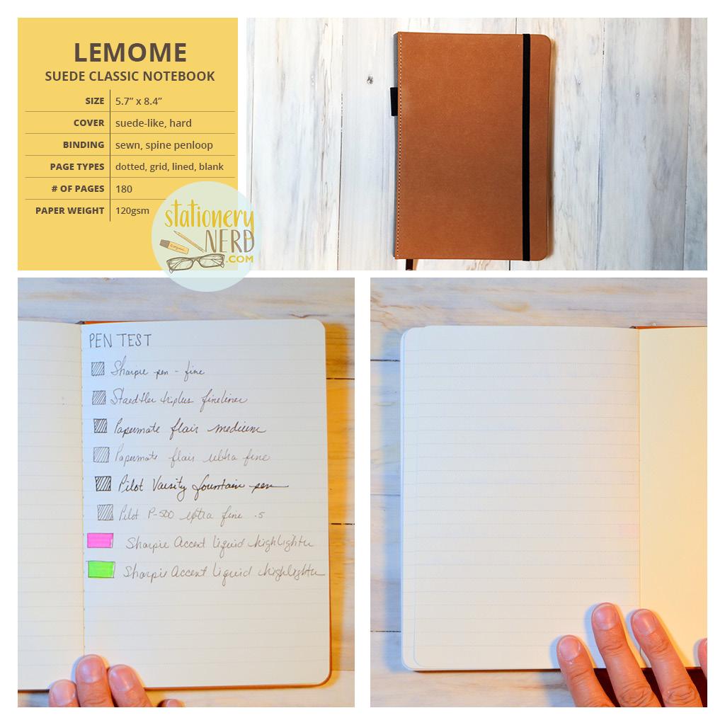 StationeryNerd_Lemome Classic Journal Review