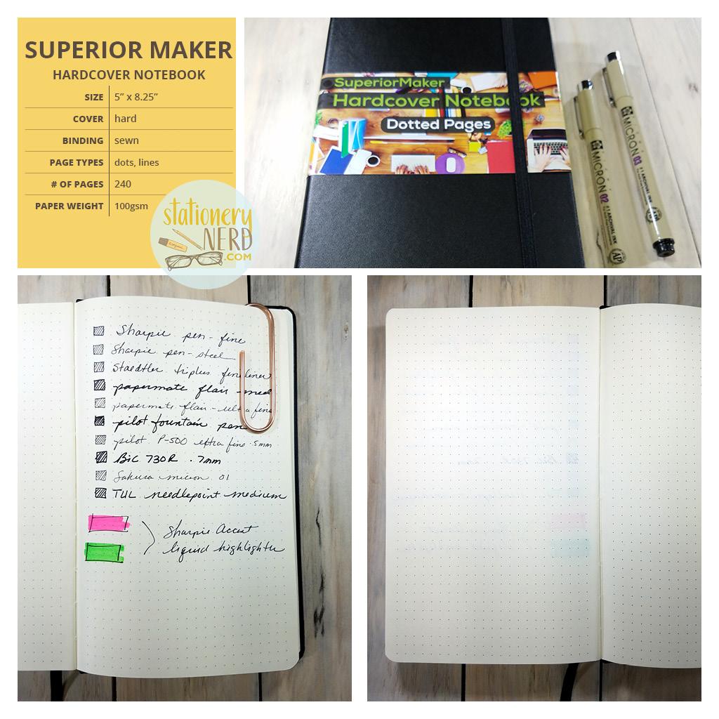 StationeryNerd_Superior Maker Journal Review