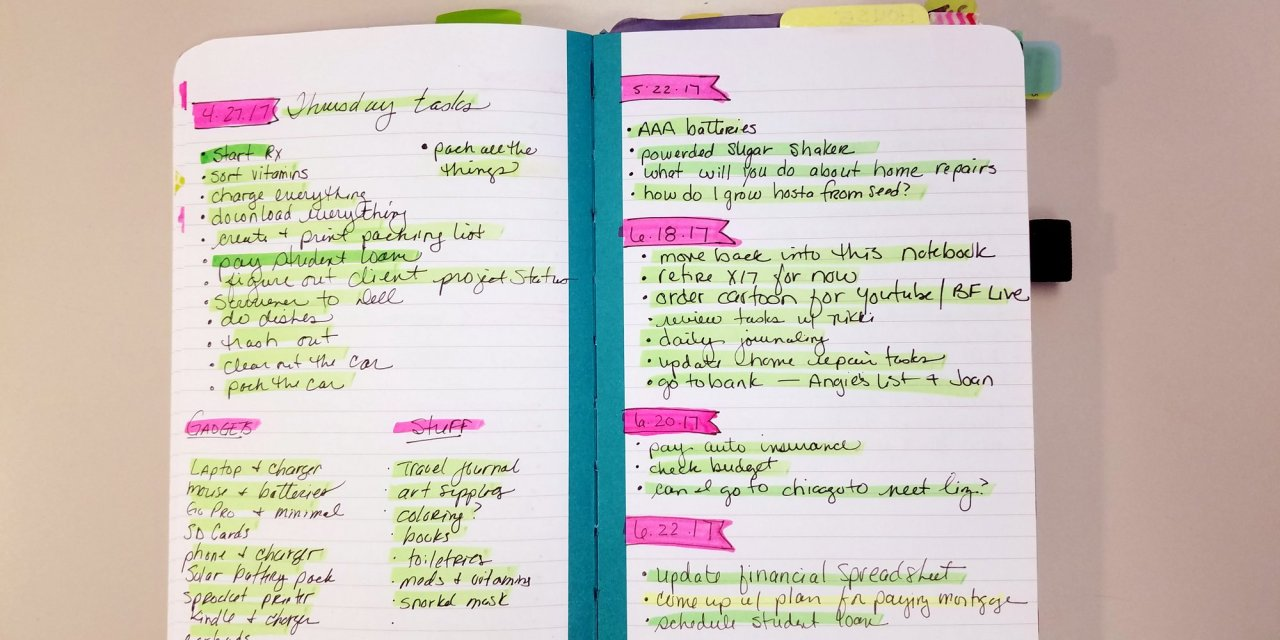 How to Start Bullet Journaling: the unconventional method