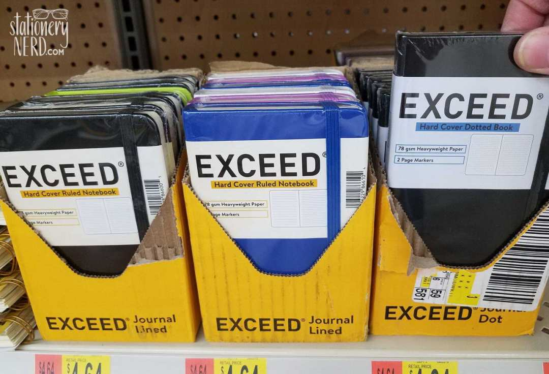 Exceed Notebooks at Walmart