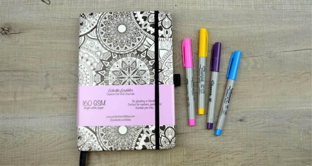 Eclectic Scribbles notebook
