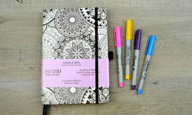 Eclectic Scribbles 160gsm Mandala Notebook Review