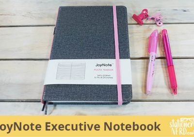 JoyNote Hardcover Executive Notebook
