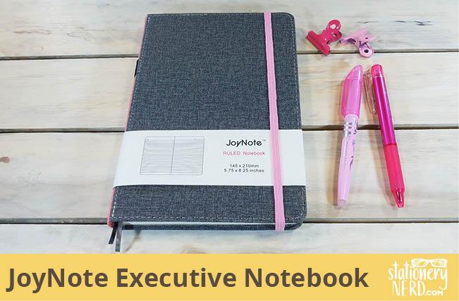 JoyNote Hardcover Executive Notebook