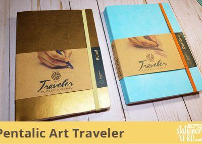 Pentalic Art Traveler Pocket Journal