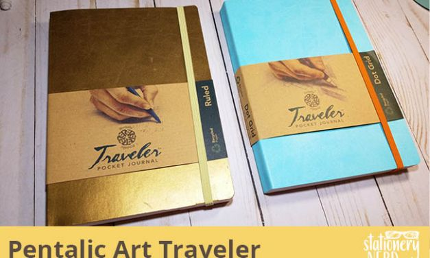 Pentalic Art Traveler Pocket Journal