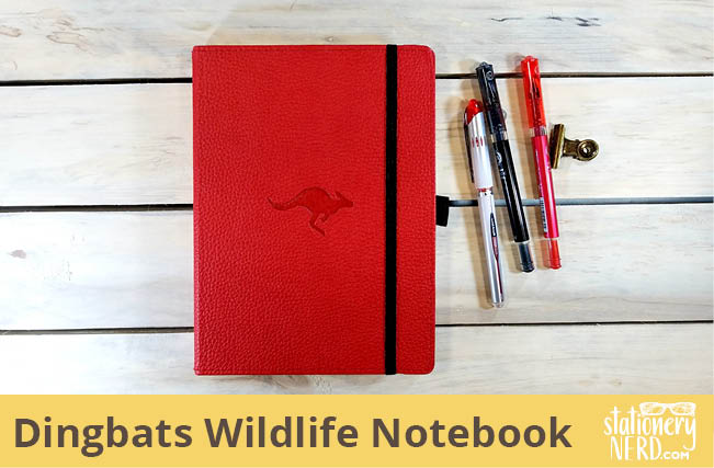 Dingbats Wildlife Medium A5+ Notebook