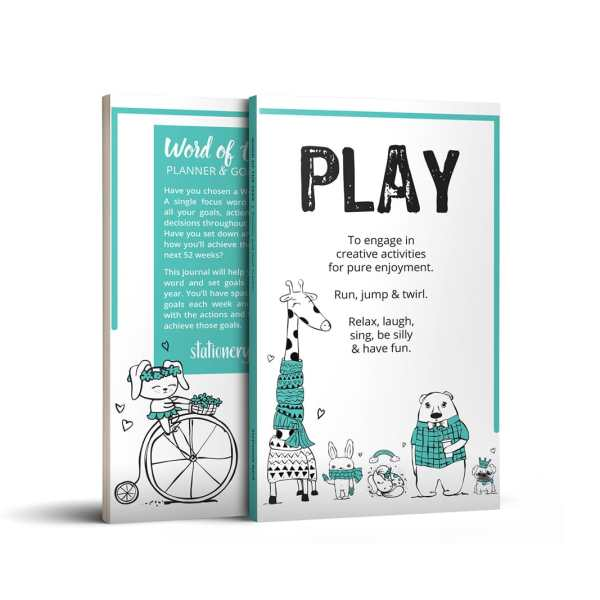 Word of the Year Planner - PLAY