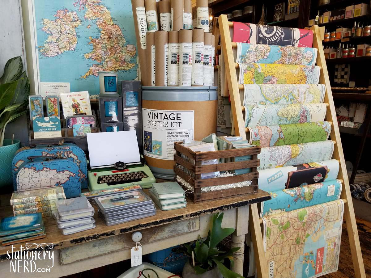 Stationery Store Tour: Violets Blue