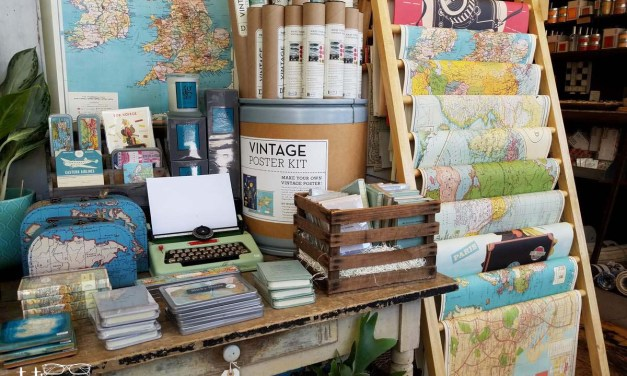 Stationery Store Tour: Violets Blue