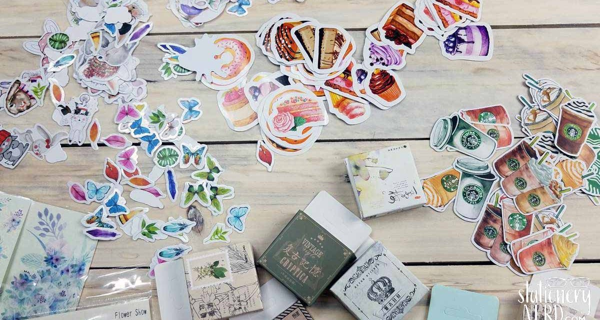 Aliexpress Sticker Haul And Organization Stationery Nerd