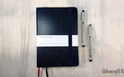Tekukor Dotted Notebook