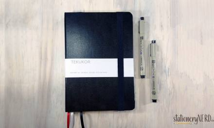 Tekukor Dotted Notebook