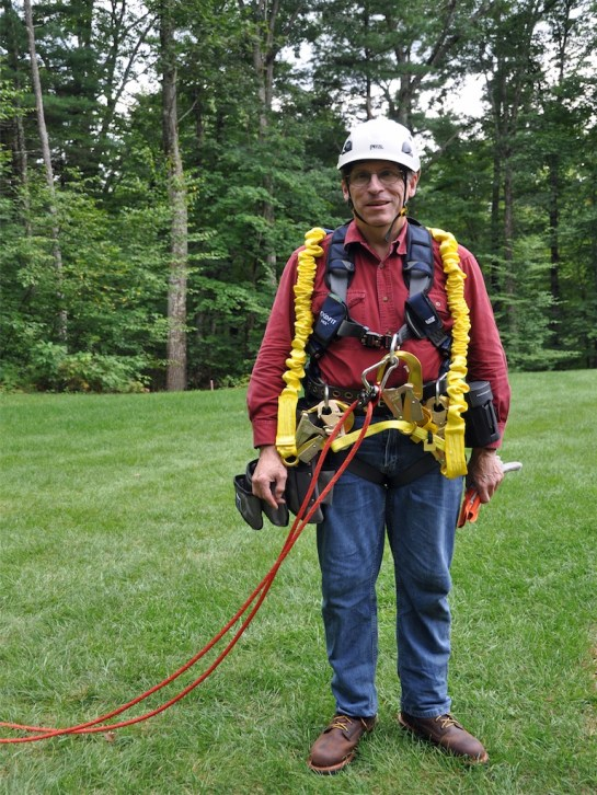 AB1OC in Climbing Gear