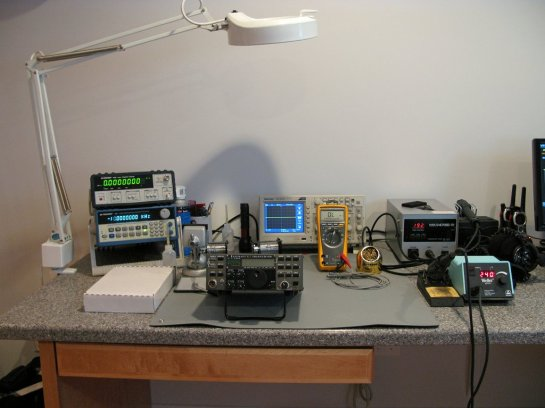 Electronic equipment for equipment construction and test.