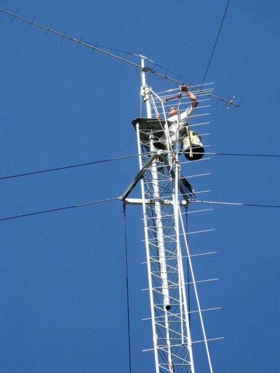 2M Beam Up The Tower
