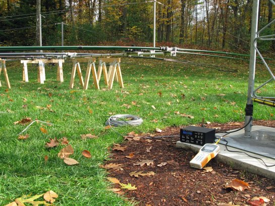 Antenna Test On The Ground