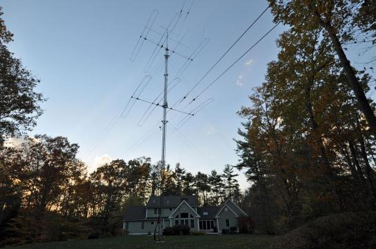 Completed Tower And Antennas