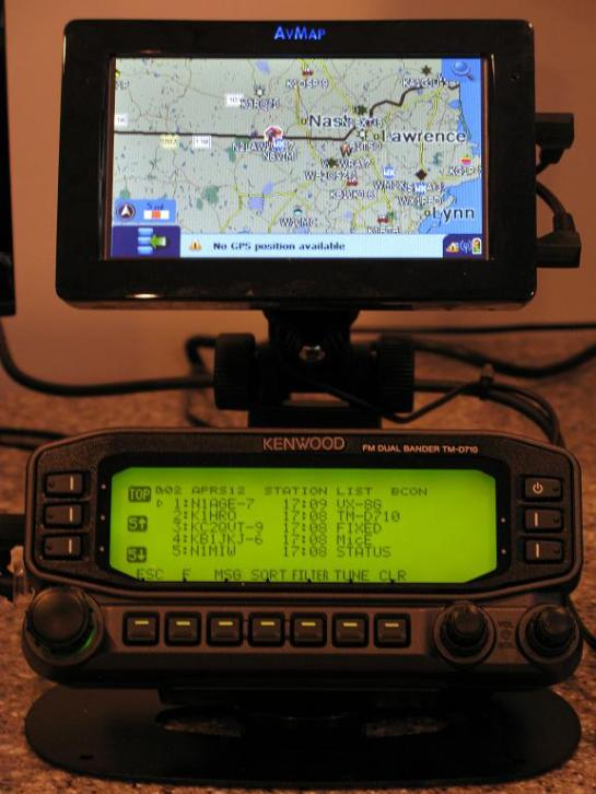 APRS Station List Display
