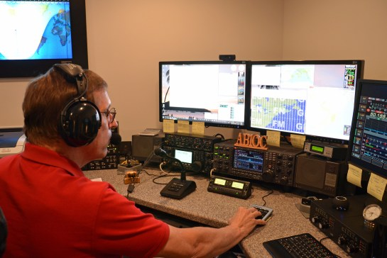 AB1OC Operating  In The 2013 ARRL VHF Contest