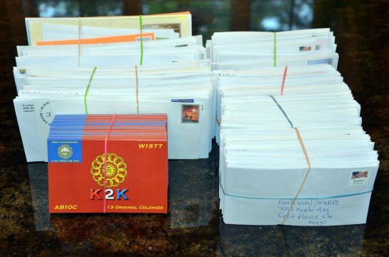 2013 Thirteen Colonies Special Event - K2K NH QSL