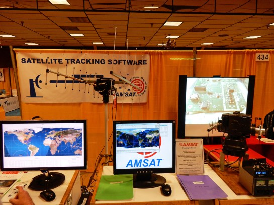 AMSAT Display At Dayton 2014