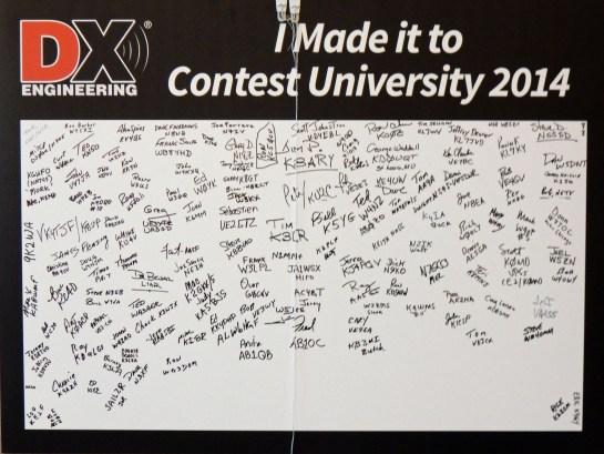 2014 Dayton Contest University Attendees