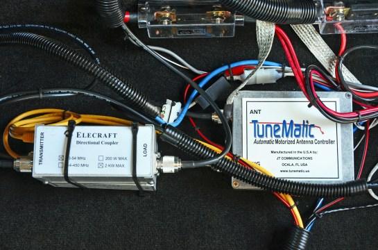 Wattmeter Sensors And Screwdriver Antenna Controller